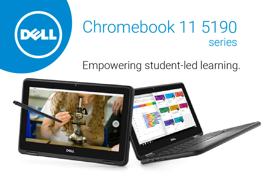 Dell Chromebook 5190 series - Empowering student-led learning.