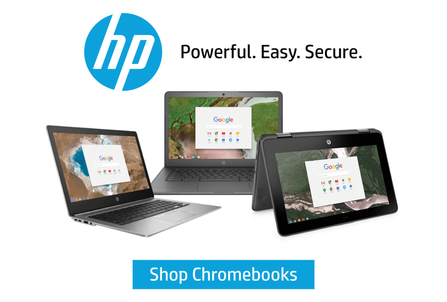 HP Chromebooks - Power. Easy. Secure.