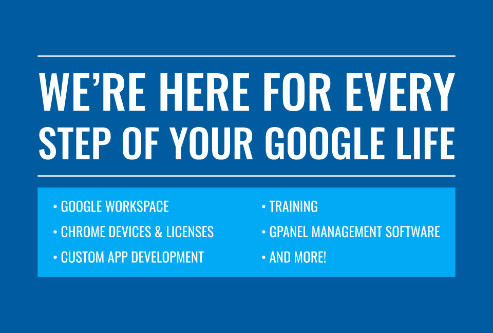 Promevo is here for every step of your Google life